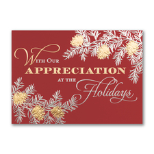In Appreciation - Holiday Card